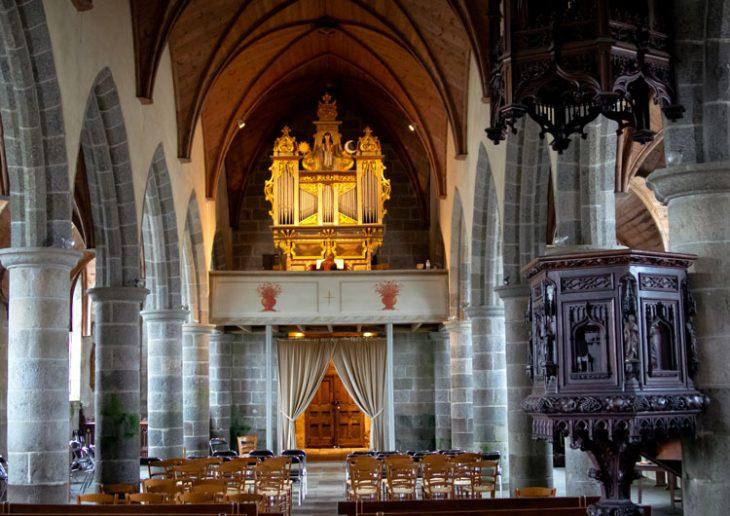 Visite de l'orgue Robert Dallam - festival de Lanvellec et du Trégor