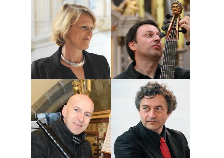 Professeurs de l'Académie de Musique Baroque de Lanvellec