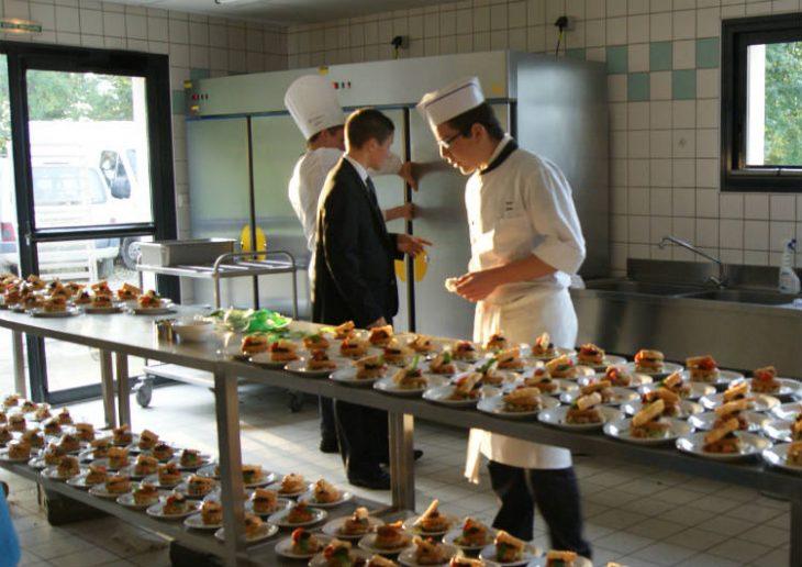Déjeuner festival de Lanvellec et du Trégor