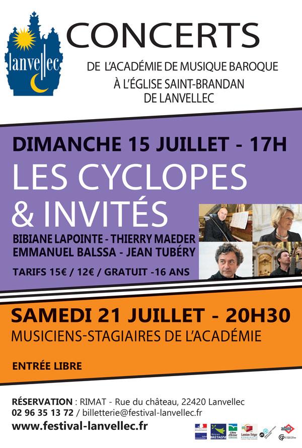 Concerts de l'Académie de musique baroque