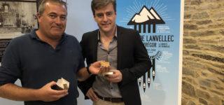 Frédéric Adam et Christian Langenfeld, lors de la conférence de presse du festival