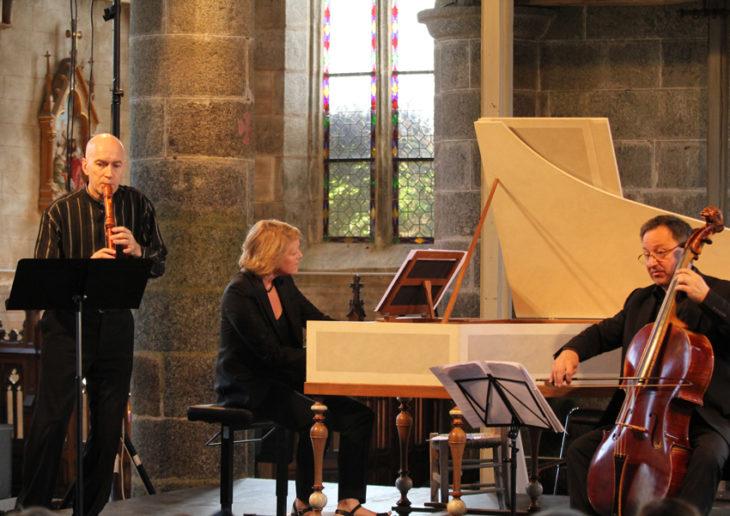 Bibiane Lapointe, Emmanuel Balssa, Jean Tubéry : professeurs de l'Académie de Musique Baroque