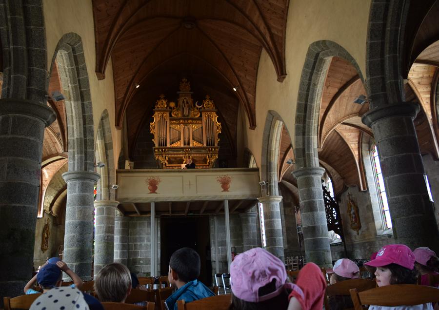 Visites de l'orgue Robert Dallam, juin 2018