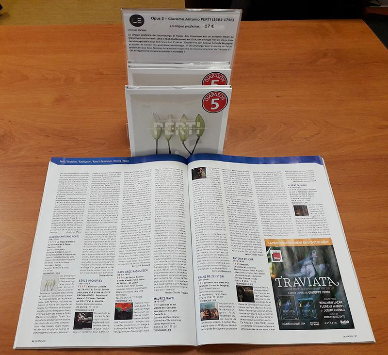 5 Diapasons Lingua profetica Lanvellec Editions